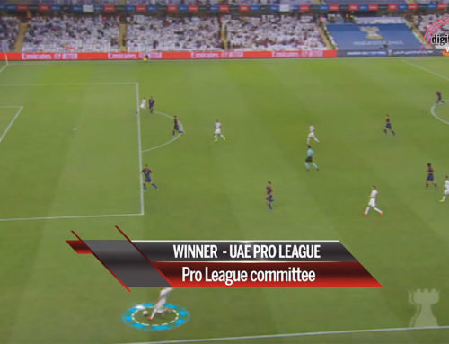 UAE Pro League won Digital Studio Awards 2020 for using Sponix Technology