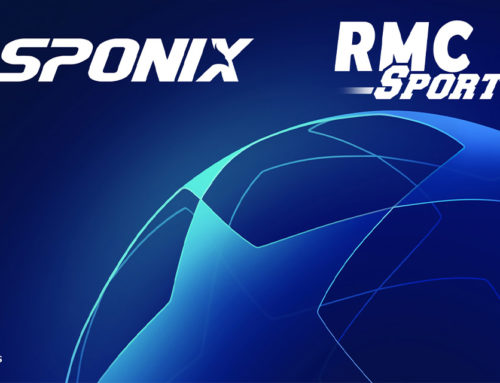 Sponix Tech in Final Round of UEFA Champions League, in Cooperation with RMC Sports