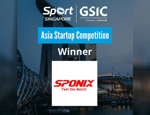 The winner of Asia Startup Competition by GSIC and Sport Singapore